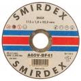 Smirdex rezný disk Inox 125x6,4x22 913